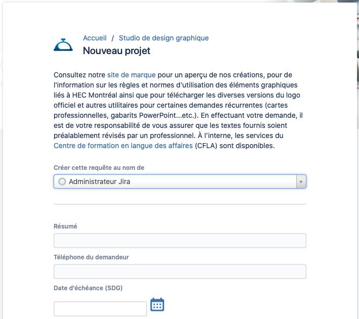Nouveau Projet – SDG